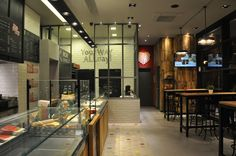 everest food store Kaisariani Athens, PALY architects Lykoudis Papaspiliopoulou