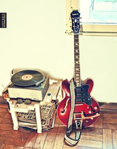 Have two guitars in my studio without a single bedroom!