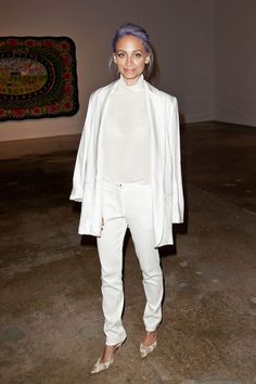 33 Lessons In Party Dressing, Courtesy Of Nicole Richie #refinery29  http://www.refinery29.com/2016/01/101520/nicole-richie-style-outfit-pictures#slide-18  No red wine allowed....