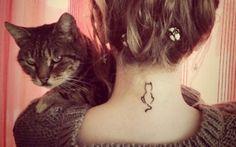 13 Tatuagens Para Quem Gosta De Gatos!!!