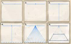 fluchtpunktperspektive landschaftsraum kunstunterricht pinterest perspektive. Black Bedroom Furniture Sets. Home Design Ideas