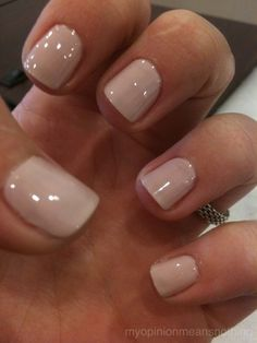 Essie topless and barefoot- perfect neutral.