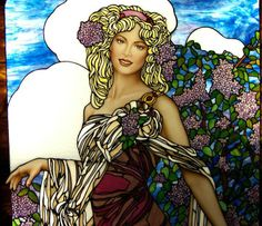 Artodyssey: Jim M. Berberich (Stained Glass Painter) - has worked in the stained glass field for over 25 years.