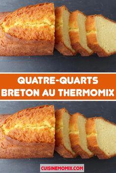 Breton pound cake with Thermomix – – Bretonischer Pfundkuchen mit Thermomix – # Pfund – Carrot Cake Loaf, Moist Carrot Cakes, Gentilly Cake Recipe, Dessert Thermomix, Easy Cakes To Make, Creme Dessert, Good Food, Yummy Food, Taiwan Food