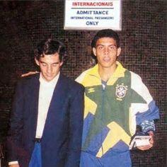 Ayrton Senna & Ronaldo | Absolutely Classic