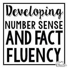 Easy to implement system to develop students' number sense and fact fluency! FREEBIES are included!