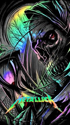 Metallica wallpaper by Crooklynite - 10 - Free on ZEDGE™ Skull Wallpaper, Music Wallpaper, Music Artwork, Metal Artwork, Graffiti Alphabet Styles, Metallica Art, Pink Floyd Art, Rock Band Posters, Heavy Metal Art