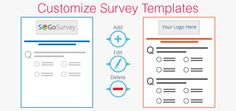 Customizable survey #templates‬ allow you to create your own ‎branded #surveys‬.