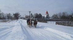 Winter in Vojvodina, Serbia