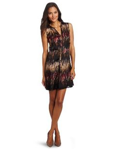 Kenneth Cole Women's Printed Silk Charm Dress « Clothing Impulse