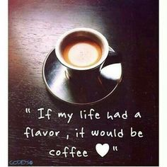 I do love me some coffee!