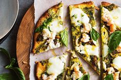 Easy recipe for Crab and mozzarella #pizza  Curtis Stone wowed us in 2003 with his avant-garde mozzarella filled with crab and avocado. Those flavours have been reworked into a Californian-style pizza – as this is the place that Curtis now calls homeFind more great recipes like this one on Feedmee. #Feedmee is a #recipe search engine that helps you find the best recipes on the internet.