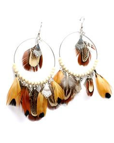 I am still  in love with feather earrings