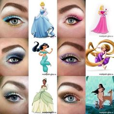 This is so cool!! Younique looks inspired by Disney Princesses! You can achieve this looks using Moodstruck Mineral Pigments. www.butterflylash3d.com