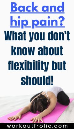 Hip Flexibility, Flexibility Training, Increase Flexibility, Lower Back Exercises, Stretching Exercises, Dynamic Stretching, Hip Workout, Workout Videos, Workouts