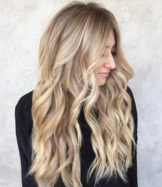 Perfect honey blonde | by @hair.by.cass