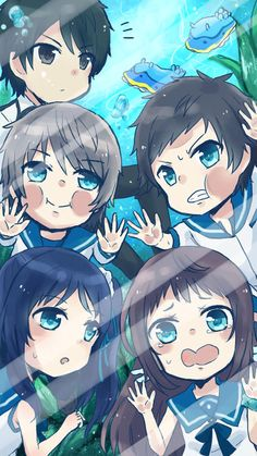 nagi no asukara secutee <333