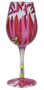 Lolita Wine Glass Loves Me Loves Me Not New * See this great product.  This link participates in Amazon Service LLC Associates Program, a program designed to let participant earn advertising fees by advertising and linking to Amazon.com.