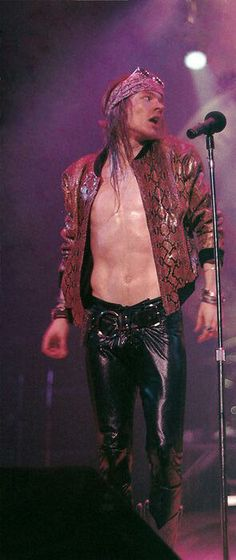 Axl Rose, my Rocket Queen <3
