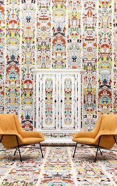 Archives Wallpaper by Studio Job / Alt Deutsch (JOB-04)