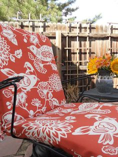 Just Another Hang Up: More Patio Cushions... Recover ...