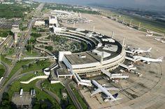 Galeão - Aeroporto Internacional do Rio de Janeiro, localizado na Ilha do Governador.