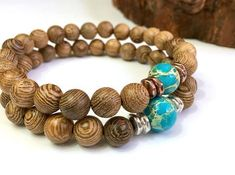 A gift idea for Earth Day, Apr. 22. Richly-grained natural wenge wood with planet-Earth-like ocean jasper stone. Your choice of copper or silver accents. For men, women, couples. Handmade to your size. https://www.etsy.com/joyfulbynature/listing/488787994/earth-day-mens-bracelet-wood-bead?utm_content=buffere9bad&utm_medium=social&utm_source=twitter.com&utm_campaign=buffer #etsymntt #Earth #treelover #EarthDay #onsalenow