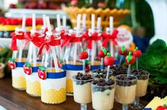 Snow White Party Ideas - Festa Branca de Neve e os Sete Anões