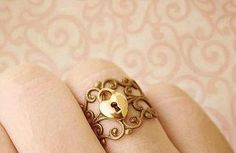 So cute #jewelry #accessory #ring , wish i knew were tobuy it, <3 it so much