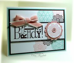 Delicate Doilies-Stampin' Up! SU by Chat Wszelaki, Me My Stamps and I