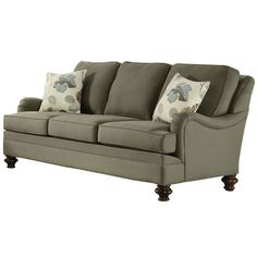 I pinned this Kapas Sofa from the Classic Brownstone event at Joss and Main! love the feet and arms!
