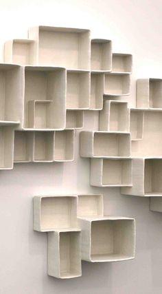Cool wall storage/display rack
