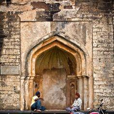 Conversations at purana qila...