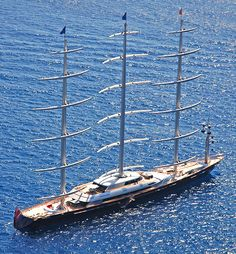 Maltese Falcon, the largest monohull in the world