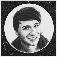 Dan Howell 'stars' by DraconaMalfoy