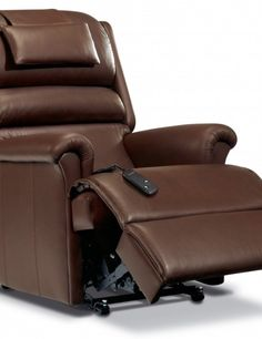 leather recliner small spaces