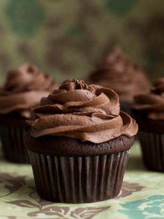 Belgian chocolate cupcake