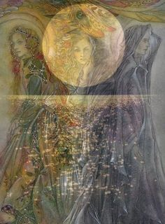 Sulamith Wulfing´s version of the Triple goddess... a fairytale with beautiful fairylike beings as always...