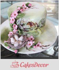 Тема CakesDecor: Красивые Весенние Торты (Часть 2) - CakesDecor