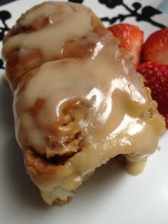 Cinnamon Rolls with Maple Coffee Frosting. YUM!