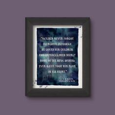 digital art quote print charlottes web