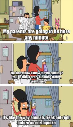 Funny pictures about This Is My Mom Every Time Someone Comes Over. Oh, and cool pics about This Is My Mom Every Time Someone Comes Over. Also, This Is My Mom Every Time Someone Comes Over photos. Funny Memes, Hilarious, Jokes, Cartoon Memes, Funny Cartoons, Funny Quotes, Bobs Burgers Memes, Family Humor, Parenting Humor