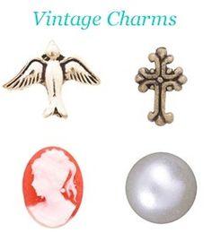 #origamiowl Vintage Charms www.fb.com/origamiowlbystacie