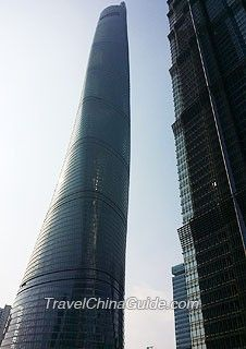 Shanghai Tower – the Tallest Building in Shanghai & in the World Shanghai World Financial Center, Shanghai Tower, Skyscraper, Multi Story Building, Street, Skyscrapers, Roads