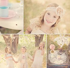 too too sweet, tea party photoshoot <3