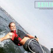 Dinghy Sailing Sailing fun is priceless and we understand that too well to offer you an exclusive sailing experience on a Bahia. We love seeing you try new things because that is what we stand for. We love to try something new every single day so we that we learn and evolve. Bahia sailing is just what you need when you an instant dose of fun with your loved ones.  Dinghy sailing is easier and definitely a lot more fun. It can be rowed, powered and turbocharged with a bigger sail. The Goan…