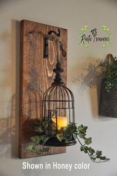 Rustic Home Decor Bird Cage Lantern Farmhouse Decor Hanging Lantern Sconce Lantern Sconces Wall Decor Sconces Sconce Rustic Decor White Lanterns, Lanterns Decor, Hanging Lanterns, Decorating With Lanterns, Lantern Chandelier, Rustic Decor, Farmhouse Decor, Rustic Art, Farmhouse Furniture