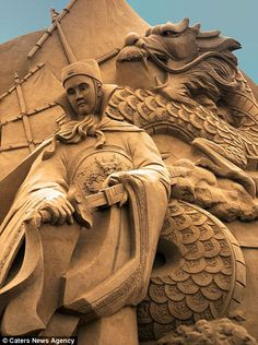 Amazing Sand Sculptures by JOOheng Tan