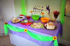 Tinkerbell Party Table