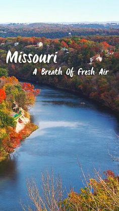 "The Travel Channel calls Missouri ""One of Travel's Best Fall Foliage Road Trips"""
